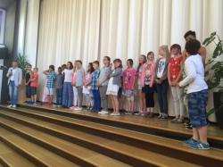 Schulaufnahmefeier 2016
