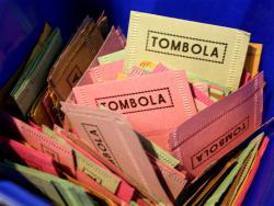 Gewinn-Nummern der Tombola