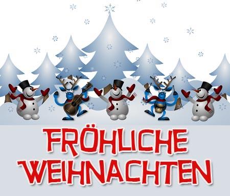 Fr hliche weihnachten - Weihnachtskarten kostenlos verschicken ...